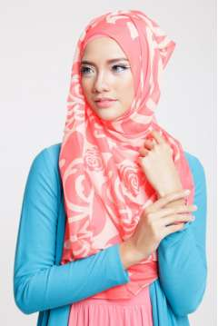 Jilbab Persegi Safara